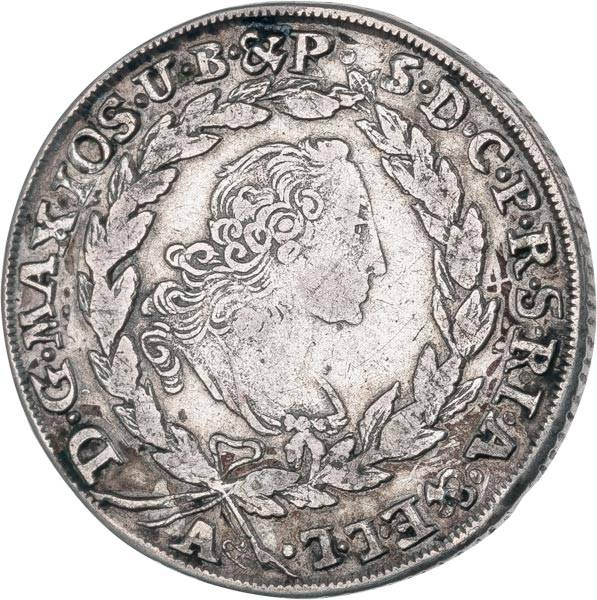 20 Kreuzer Bayern Kurfürst Maximilian III. Joseph 1763-1776