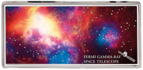 5 Dollars Samoa Shades of Space Fermi Gamma-Ray 2018