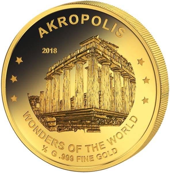 100 Francs Niger Akropolis 2018