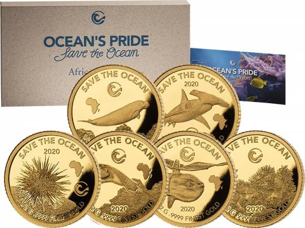 Gold-Kollektion Oceans Pride - Save the Ocean Africa Edition 2020