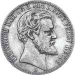 2 Mark Reuß Greiz Heinrich XXII. 1877 s-ss