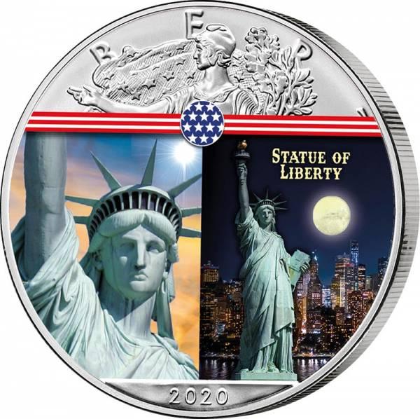 1 Dollar USA Freiheitsstatue 2020