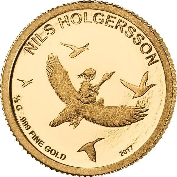 100 Francs Niger Nils Holgersson 2017