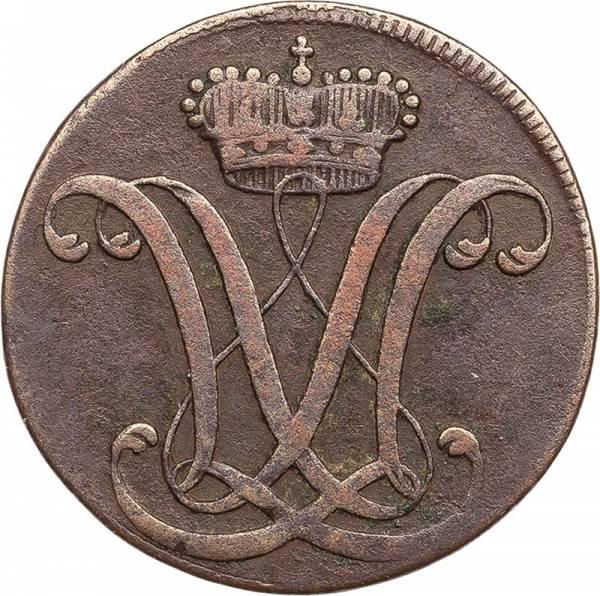 1 Heller Hessen-Kassel Landgraf Wilhelm IX. 1791 - 1803