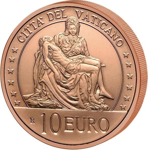 10 Euro Vatikan La Pieta 2020