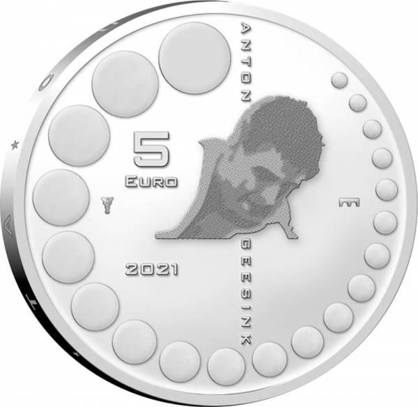 5 Euro Niederlande Anton Geesink 2021