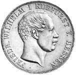 Taler Doppeltaler Friedrich Wilhelm I. 1851, 1854, 1855  ss-vz