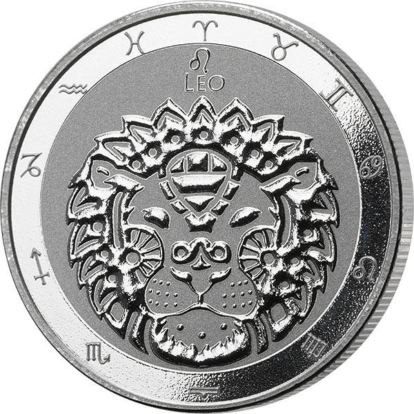 1 Unze Silber Tokelau Löwe 2021