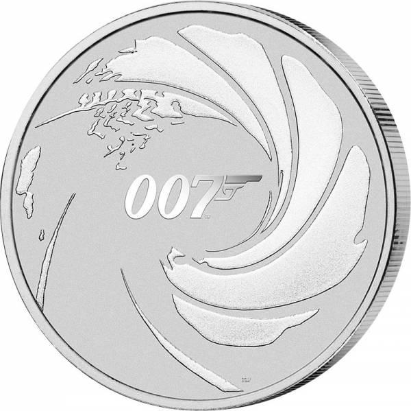 1 Unze Silber Tuvalu James Bond 007 2020