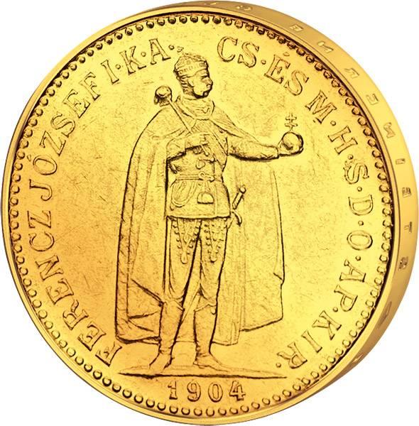 10 Kronen Ungarn Franz Joseph I. 1892-1915 ss-vz