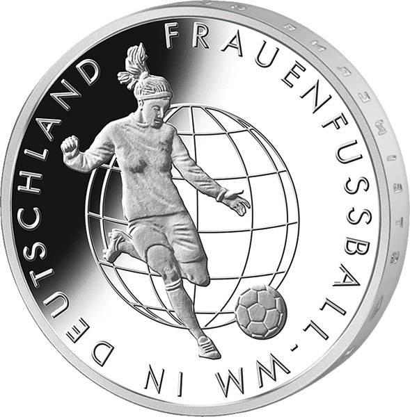 10 Euro BRD Frauenfußball-WM 2011