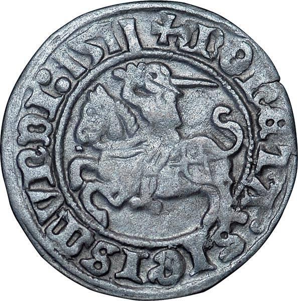 1/2 Groschen Litauen Großfürst Witold