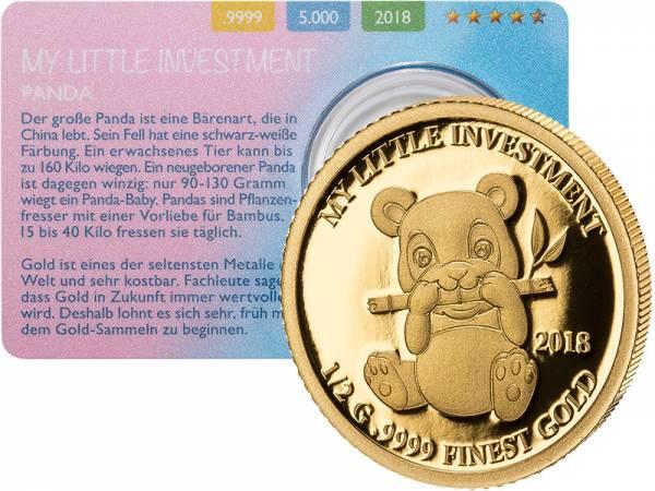10 Dollars Salomonen My Little Investment Panda 2018 - FOTOMUSTER