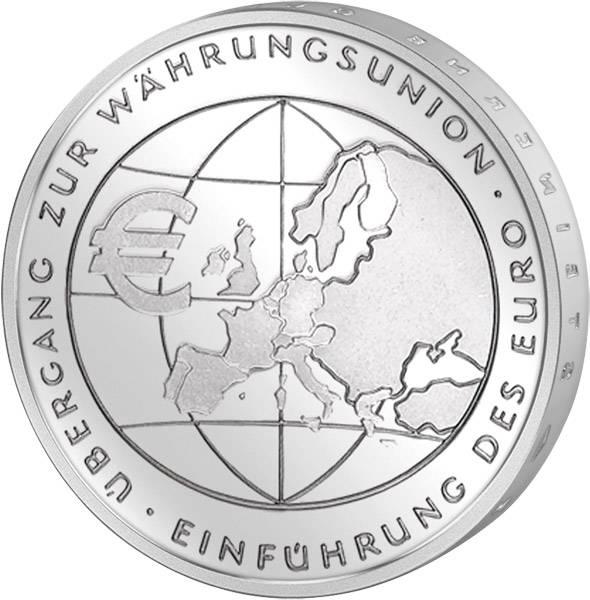 10 Euro BRD Übergang zur Währungsunion 2002