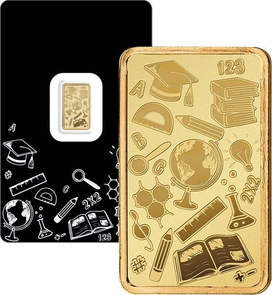 1 Gramm Goldbarren Schweiz Bildung und Wissen