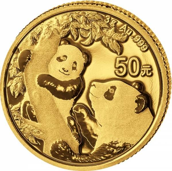 50 Yuan China Panda 2021