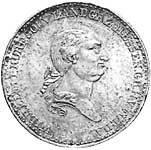 Taler Wilhelm I. 1819-1820 Sehr schön