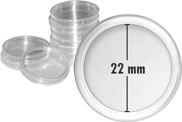 10er-Pack Münzkapseln Innendurchmesser 22 mm
