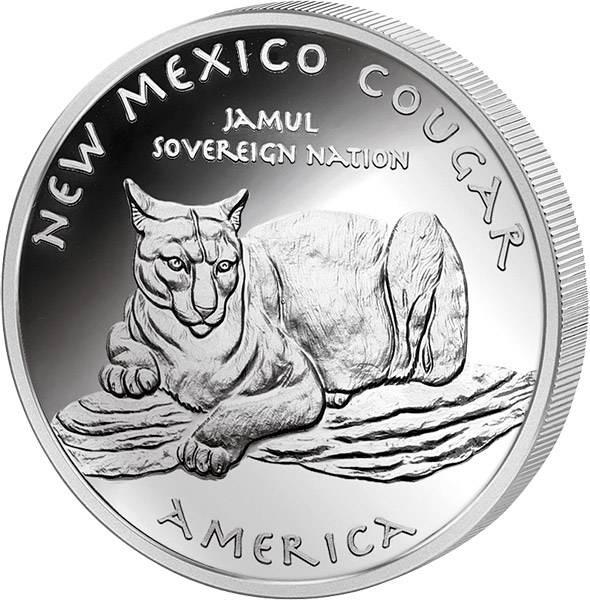 1 Dollar USA New Mexico Navajo Puma
