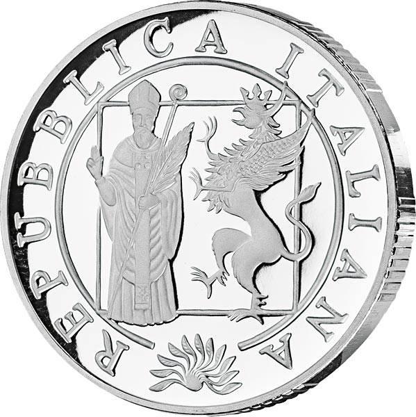10 Euro Italien 700 Jahre Universität Perugia 2008