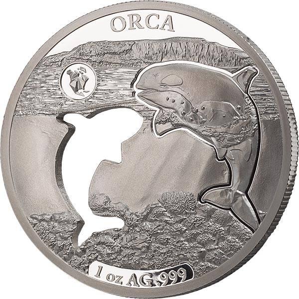 5 Dollars Barbados Orka 2020
