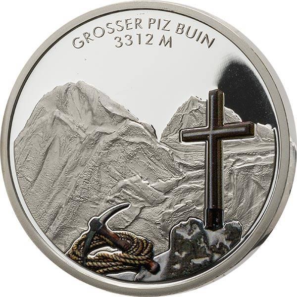 Gedenkprägung Österreichs schöne Bergwelt Großer Piz Buin