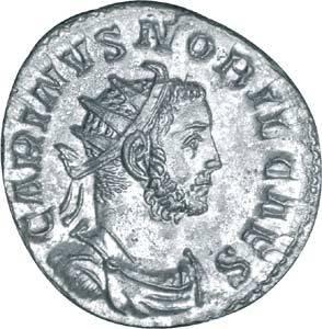 Carinus Antoninian Antike/Rom 282-285 n.Chr. ss-vz