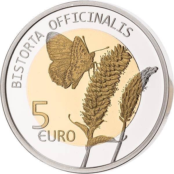 5 Euro Luxemburg Schlangen-Knöterich 2020
