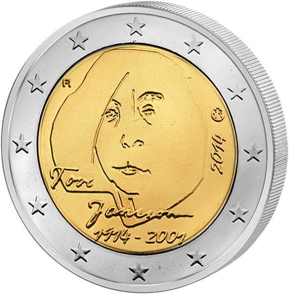 2 Euro Finnland 100. Geburtstag Tove Jansson 2014 prägefrisch