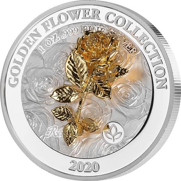 5 Dollars Samoa Gold Flower Kollektion Rose 2020