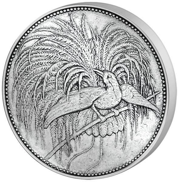 1 Mark Deutsch Neuguinea Vogel 1894 A Sehr schön