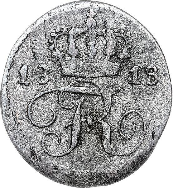 1/2 Kreuzer Württemberg König Friedrich I. 1812 - 1813 und 1816