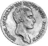 Taler Friedrich Wilhelm III. 1809-1816 ss-vz