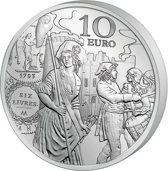10 Euro Frankreich Säerin 2018
