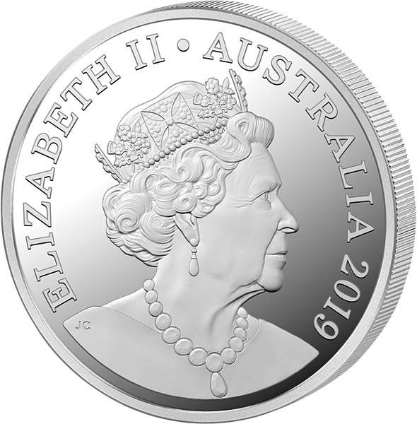 1 Dollar Australien Elizabeth II. 2019