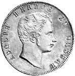 Doppeltaler Silber Adolph 1844, 1847, 1854  ss-vz