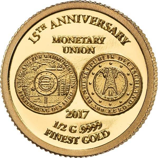 100 Francs Elfenbeinküste 15 Jahre Währungsunion 2017