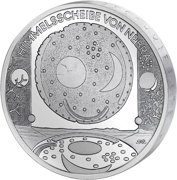 10 Euro BRD Himmelsscheibe von Nebra 2008