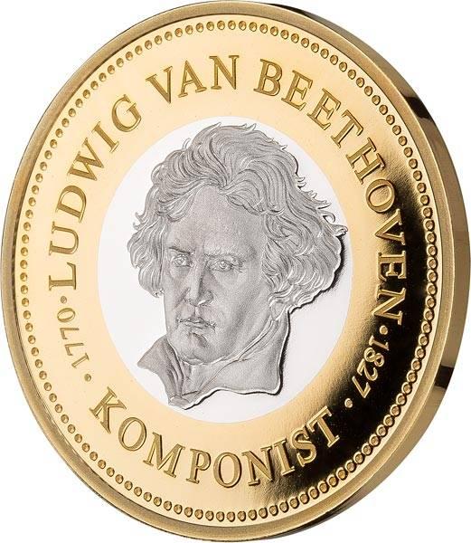 Gedenkprägung Ludwig van Beethoven
