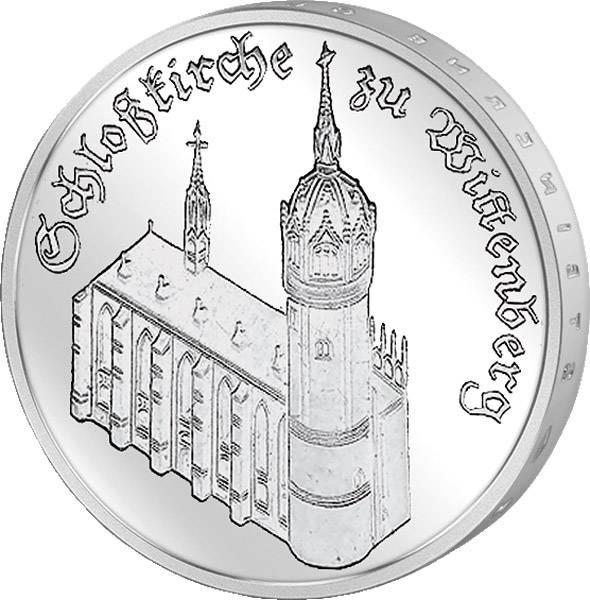 5 Mark Schloßkirche zu Wittenberg