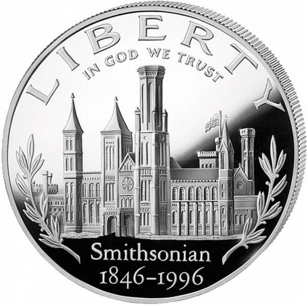 1 Dollar USA 150 Jahre Smithsonian Institut
