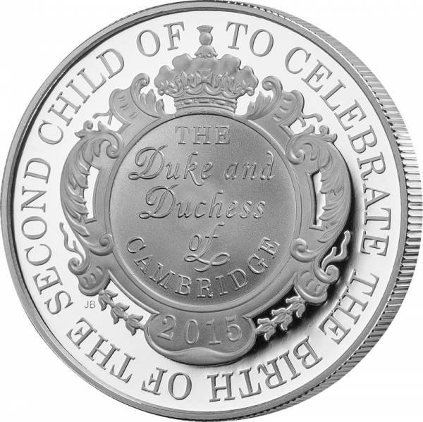 5 Pounds Großbritannien Die königliche Geburt 2015