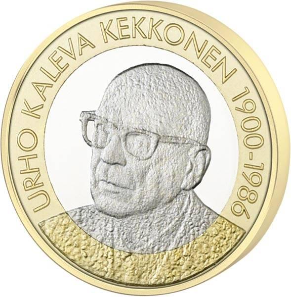 5 Euro Finnland U. Kekkonen 2017