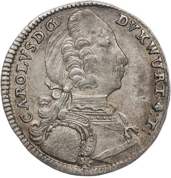 6 Kreuzer Württemberg Karl Eugen 1746-1750