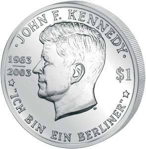 John F. Kennedy Ich bin ein