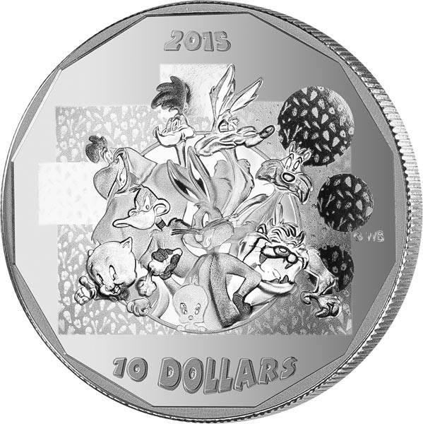 10 Dollars Kanada Lonney Tunes 2015