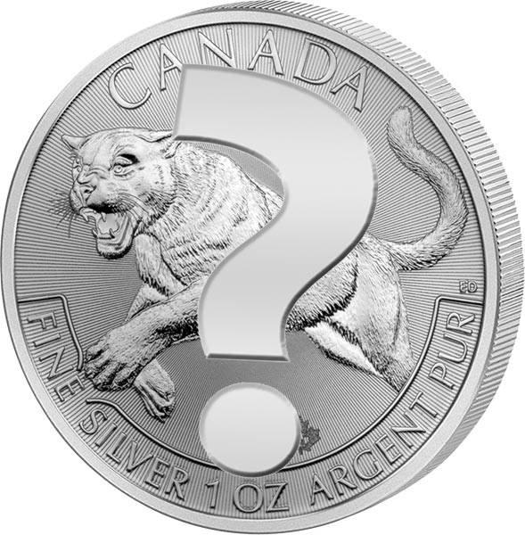 1 Unze Silber Kanada Predators Motiv unserer Wahl