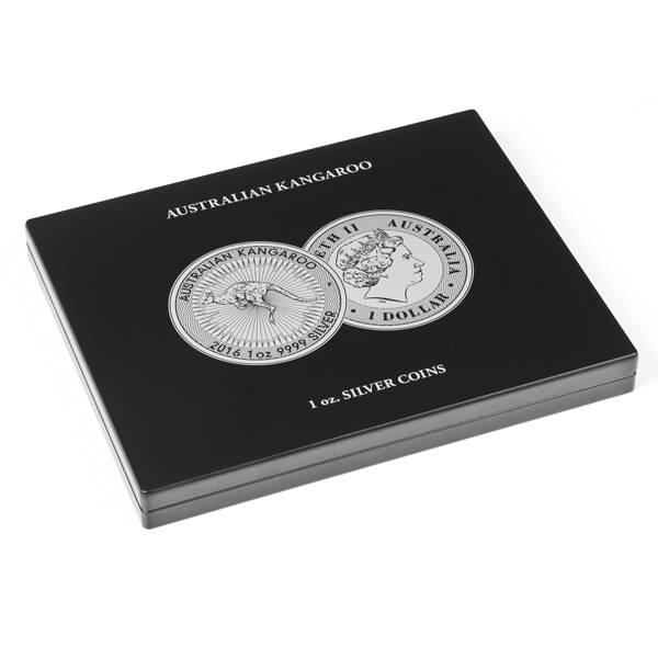 Münzkassette für 20 Silbermünzen Australian Kangaroo