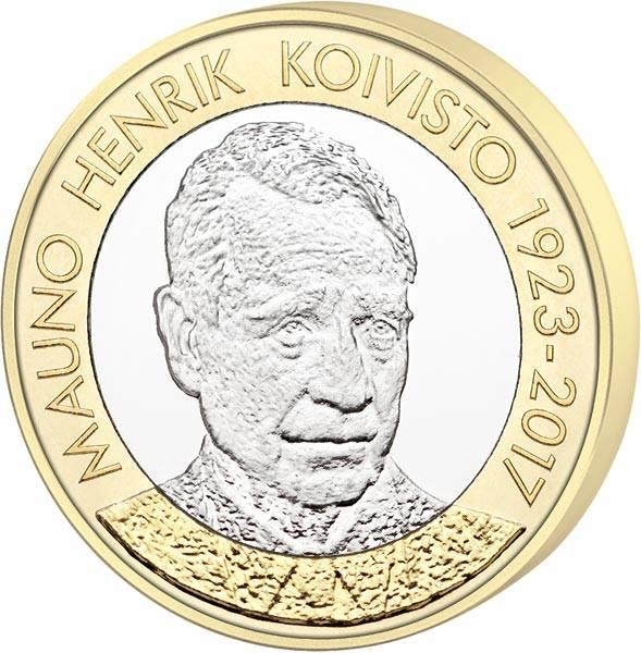 5 Euro Finnland Mauno Henrik Koivisto 2018