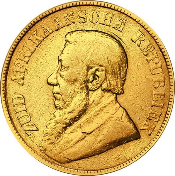 1 Pound Südafrika Paul Krüger 1892-1900 s-ss